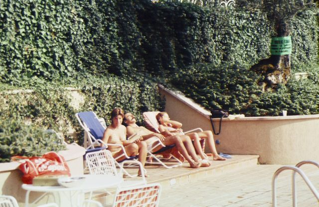 Poolside Siena