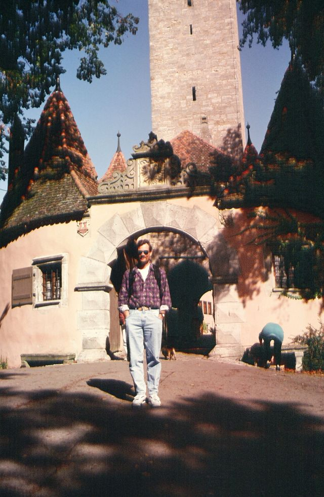 Outside a Rothenburg Gate