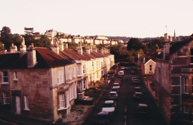 View of Bath from Holly Villa