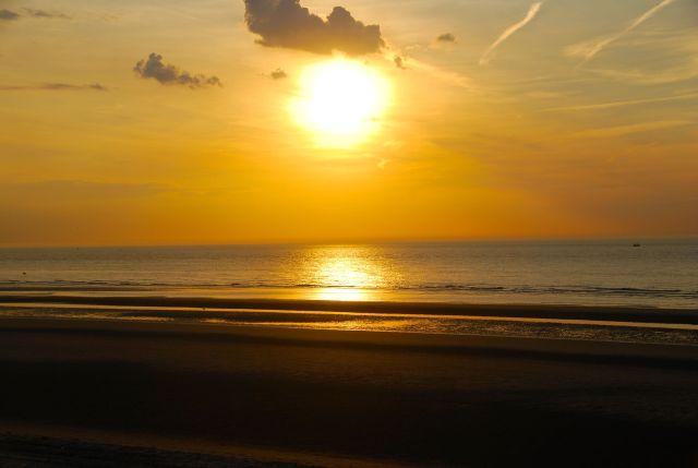 Sunset in Dunkirque