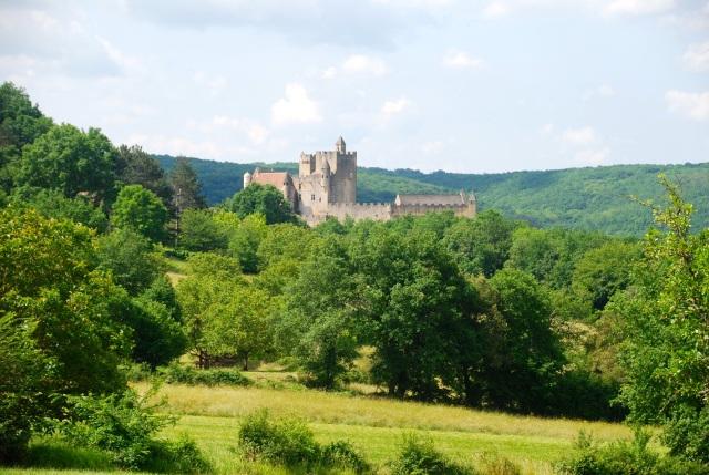 Castle at Beynac