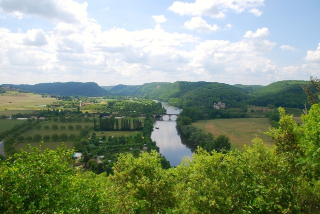 The Dordogne River from the Castle