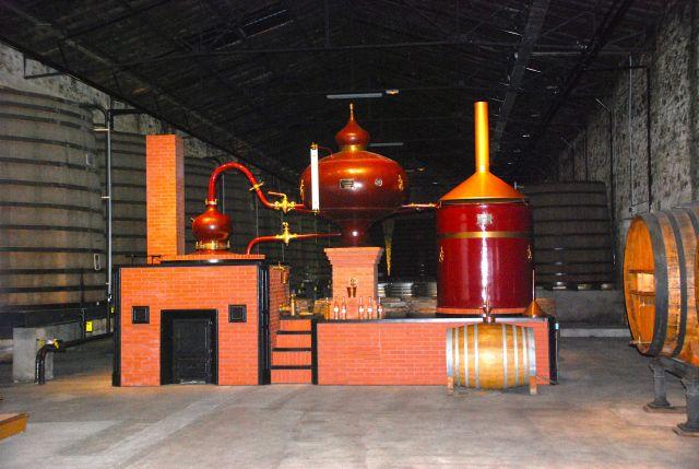 Copper Pot Stills for Double Distillation