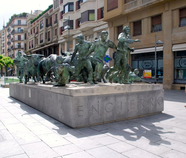Monument to the Encierro