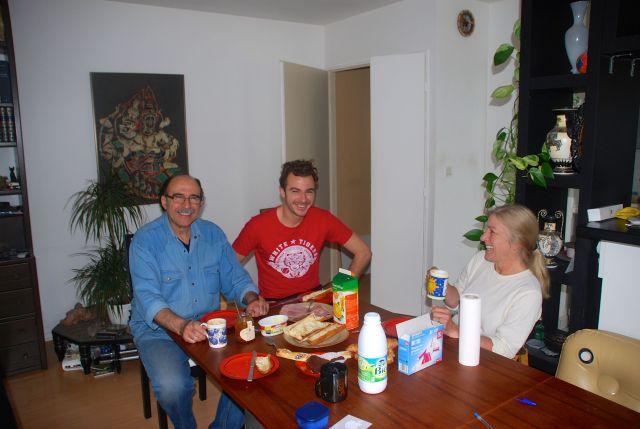Francois, Axel and Joanna