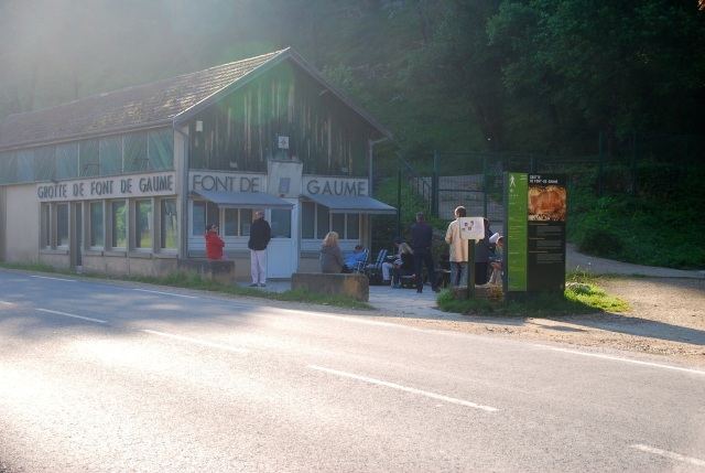 Waiting in Line at Font de Gaume