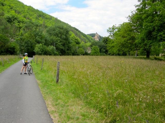 Joanna on the Trail