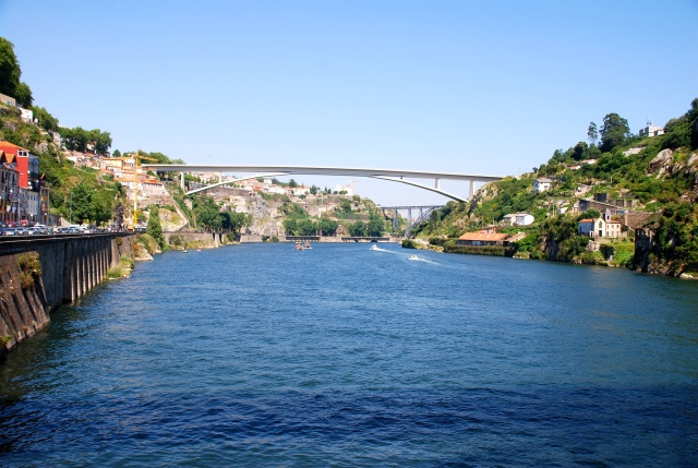 Porto Looking Up River