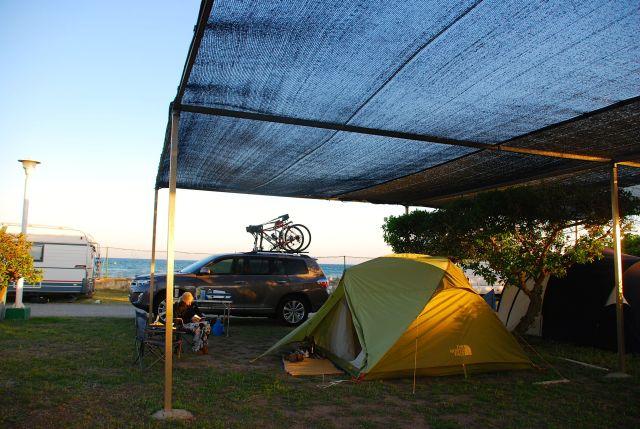 Campsite at Estrellas