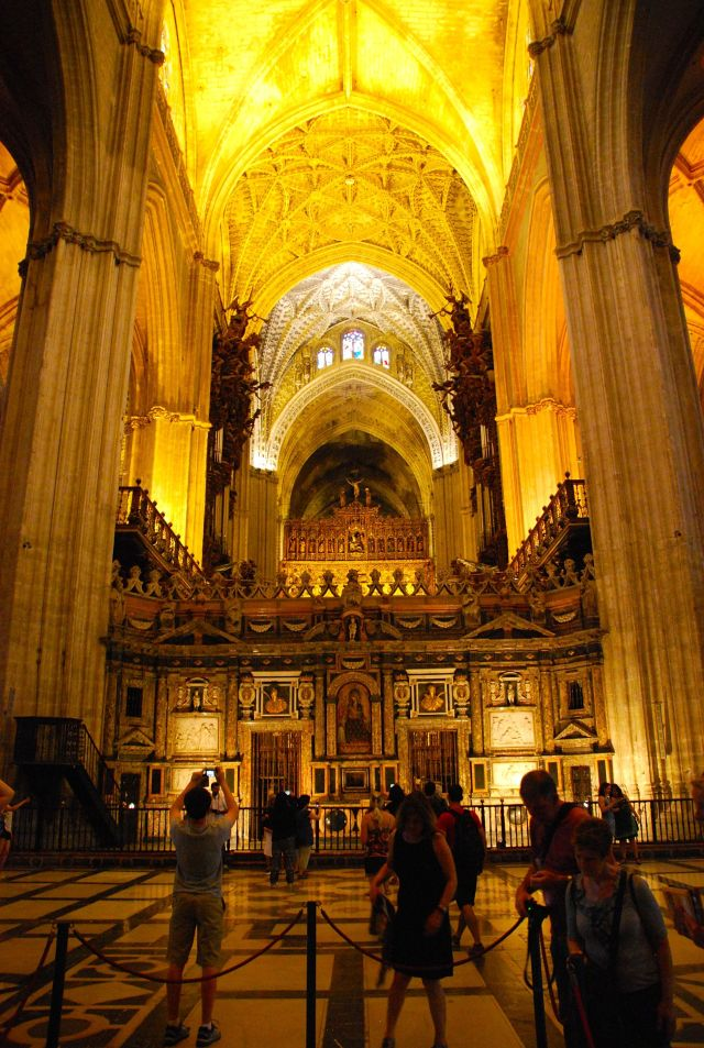 Interior Cathedral Seville