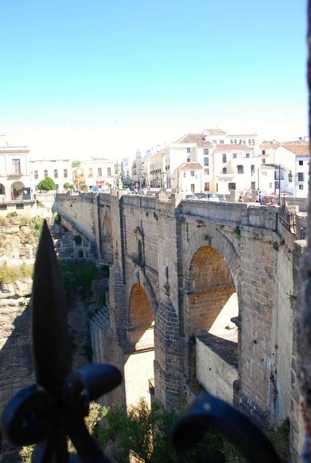 New Bridge as You Enter Town