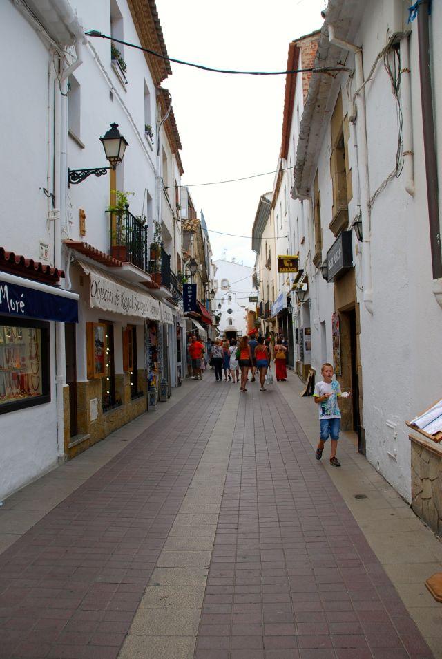 Streets of Tossa