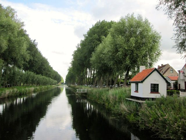 Damme Canal on the Bikes