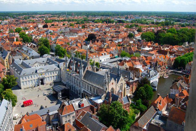 Brugge from Belfry