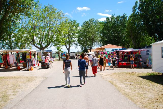 Flea Market in Camp