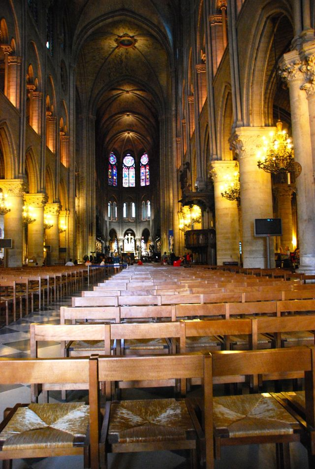 Notre Dame Pews