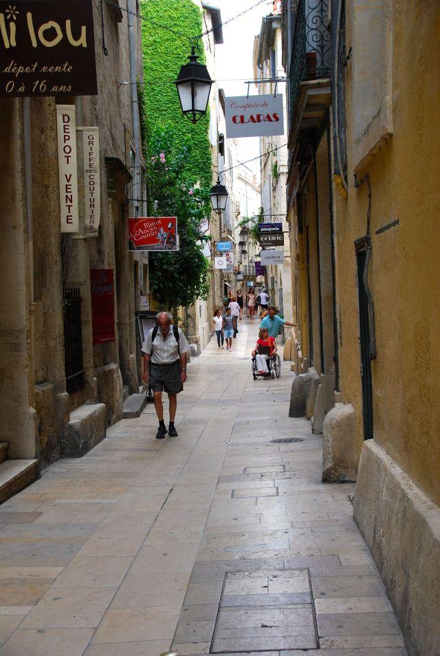 Montpellier Shopping Street
