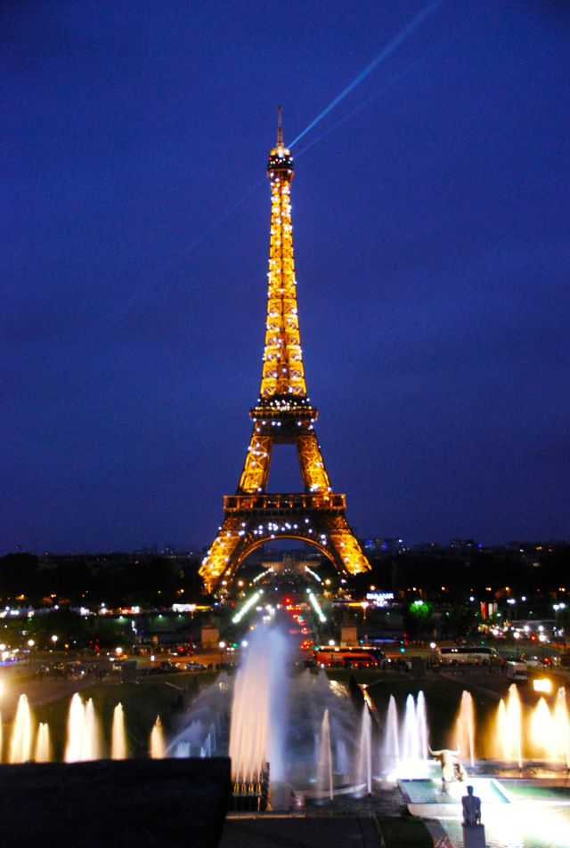 Eiffel Tower Lights
