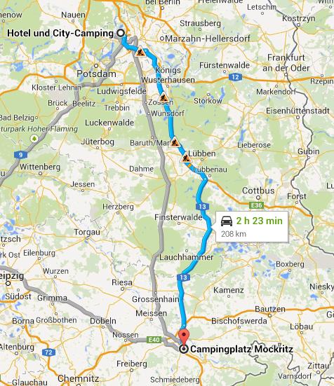 Berlin to Dresden