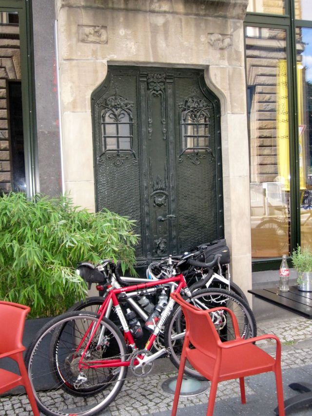 Bikes and the Talisman Door