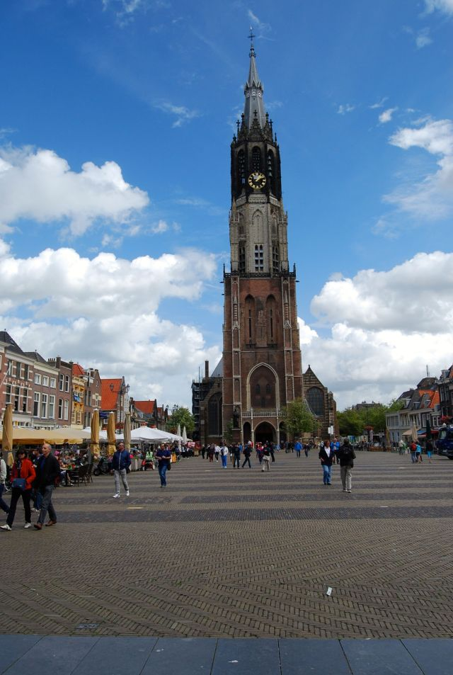 Cathedral in Delft