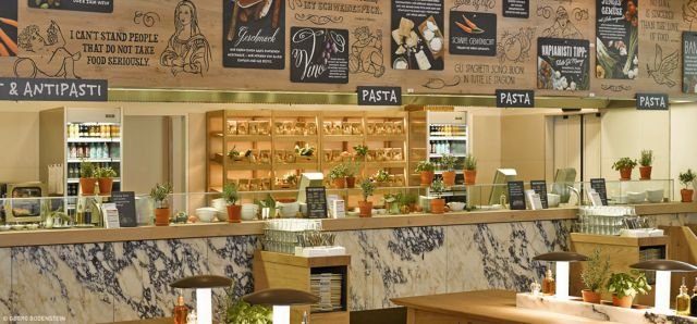 Vapiano Cooking Station