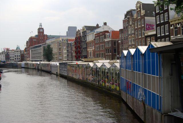 Flower Market on Singel Canal