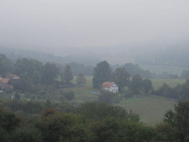 Foggy Morning Bike Ride