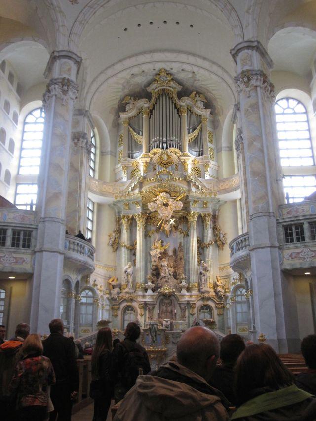 Frauenkirche Interior