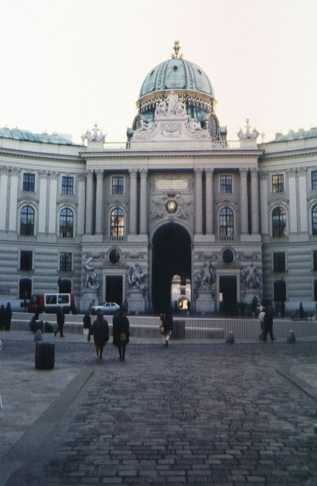 Hofburg from 1992