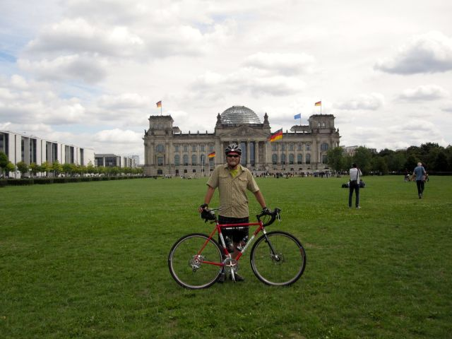 At the Reichstag