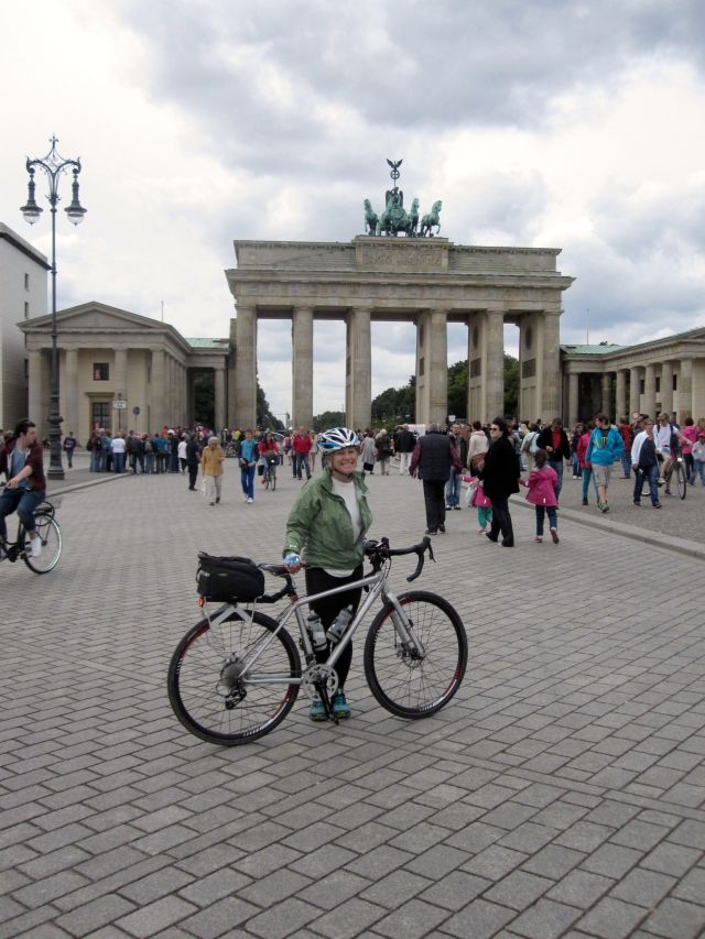 At the Brandenburg Gate