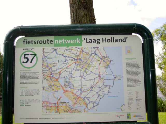 """Fietsroute """"Laag Holland"""""""