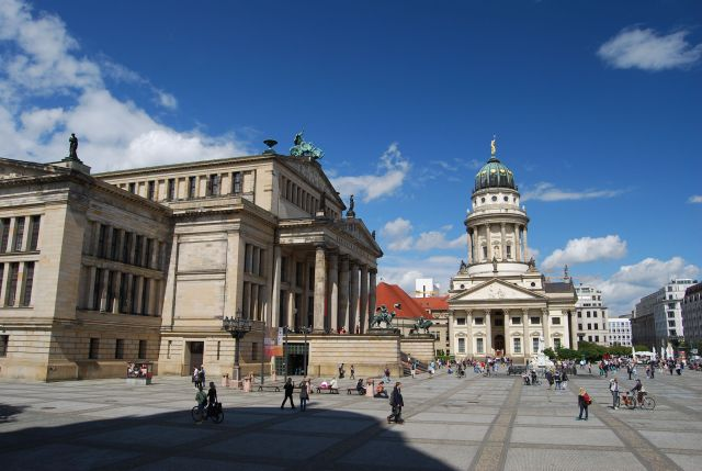 Near Potsdamer Platz - First Stop on Hop On Hop Off
