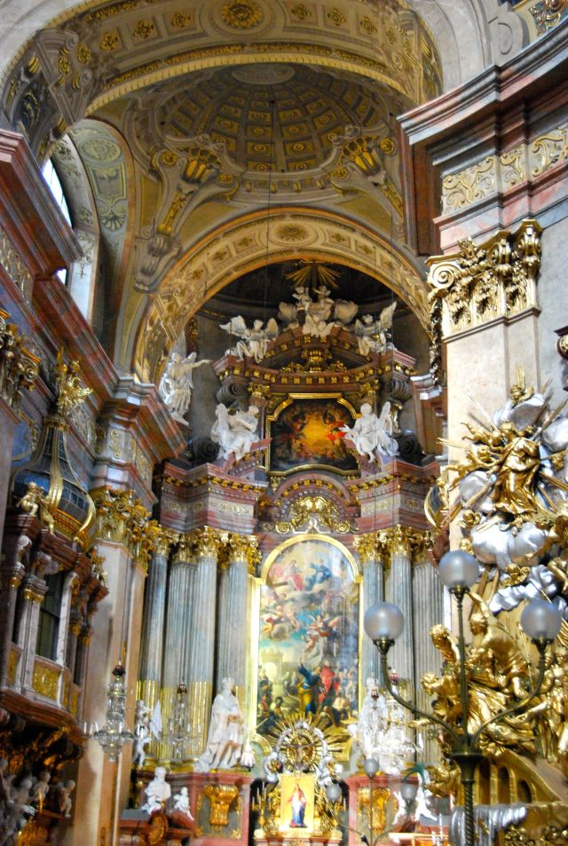 St. Peter's Baroque Interior