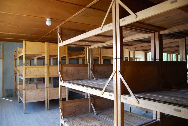 Beds in Barracks