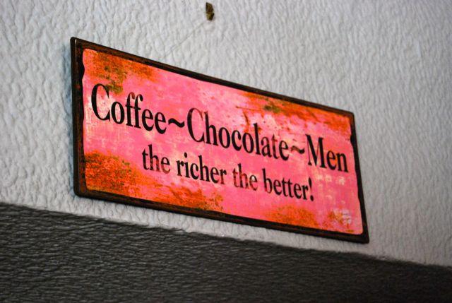 Coffee, Chocolate, Men