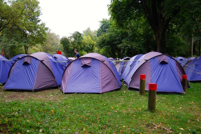 Some of the Touring Tents