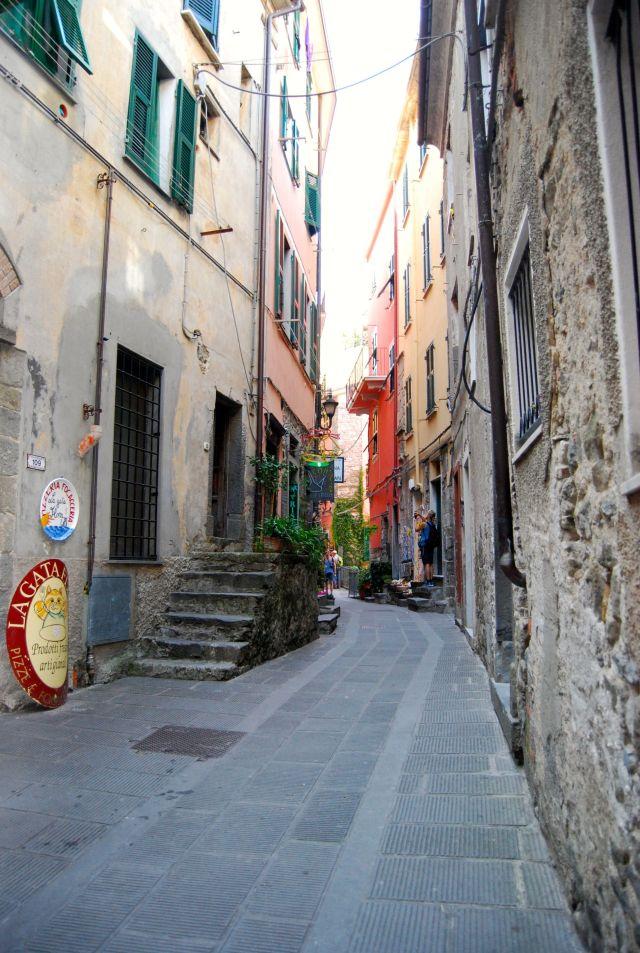 Street in Corniglia