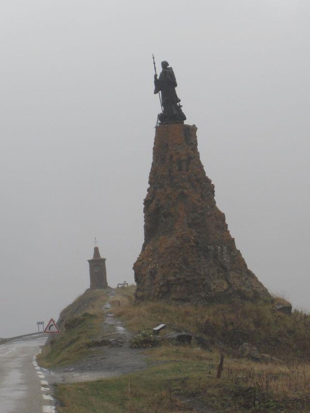 Fog at Col du Petite St. Bernard