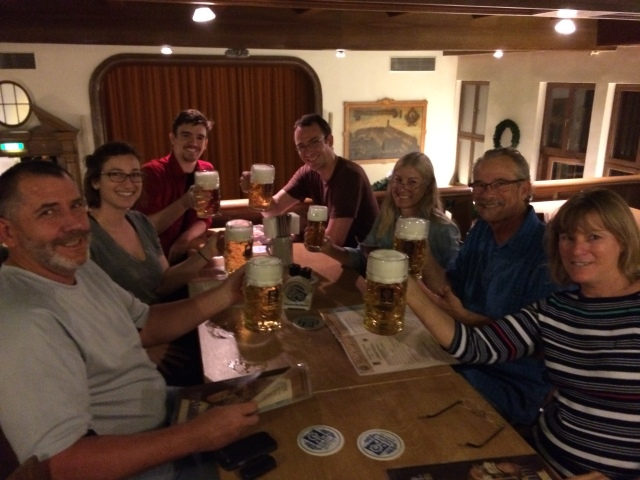 The Group at Augustiner