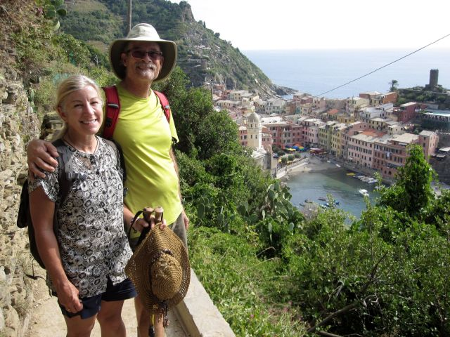 Hike is Done, Vernazza is Just Down the Hill