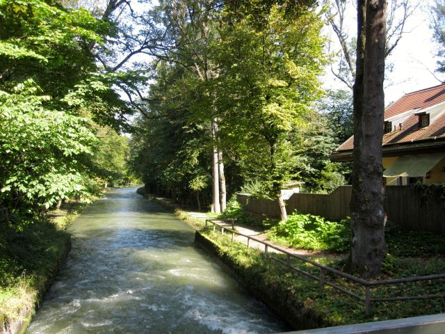 Isar Canal Near Camp
