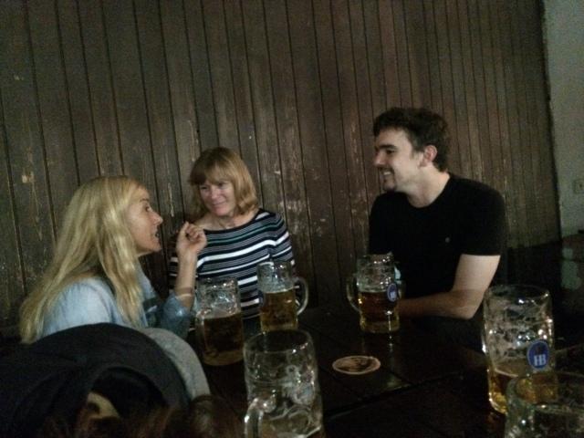 Joanna, Kim and John