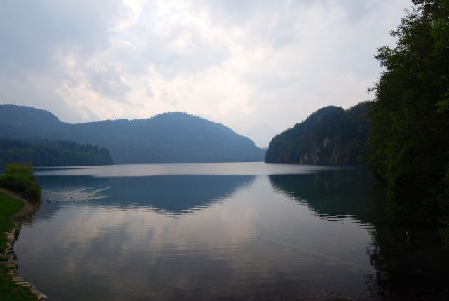 Lake at Hohenschwangau