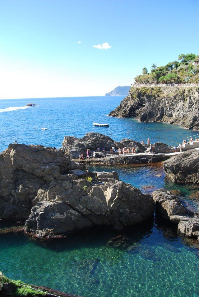 Manarola Swimming Hole