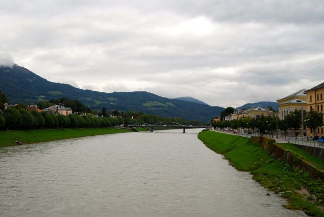 Salzach from the Bridtge