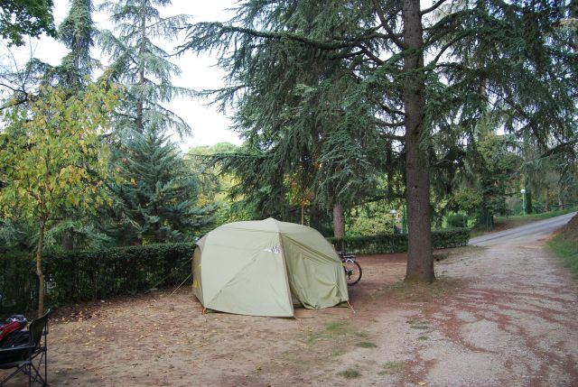 Site with Tent