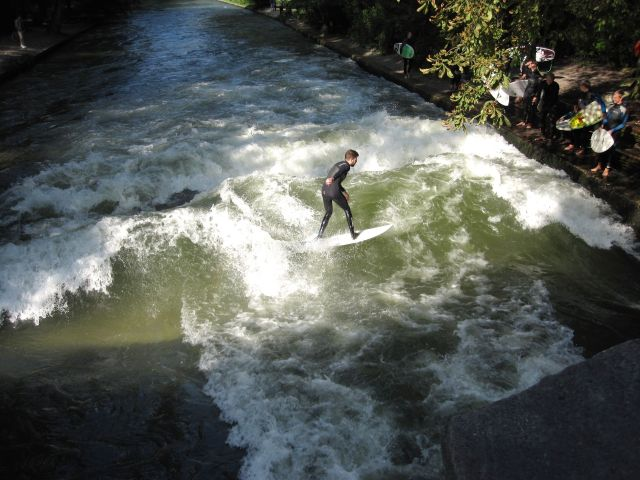 Surfing the Canal