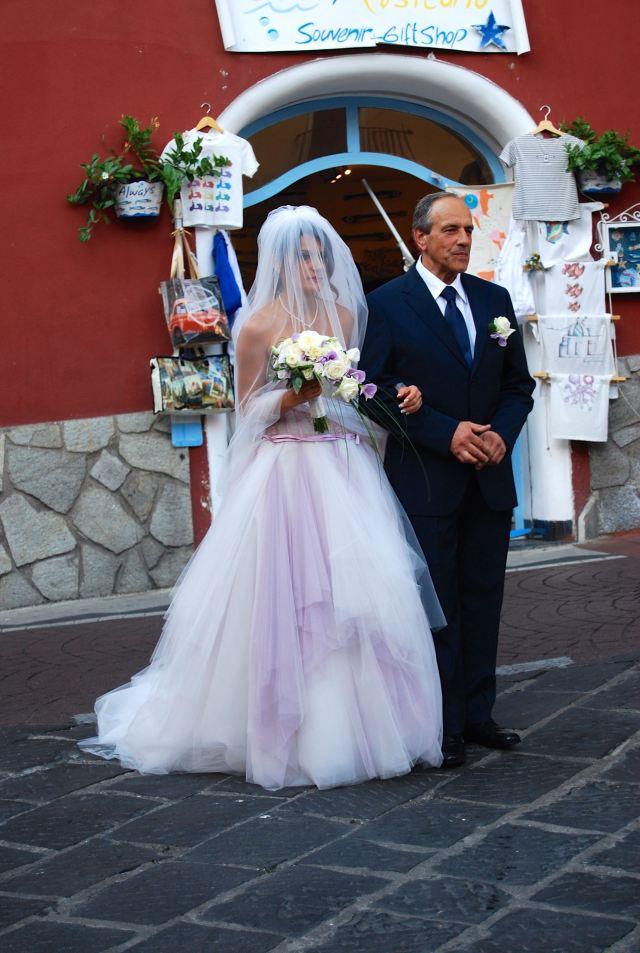 Bride in Positano